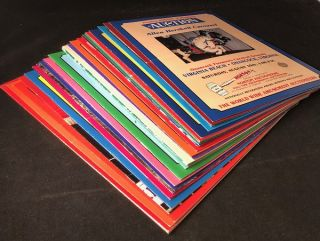 Archive of 39 Original 1984-2003 Amusement Park Auction Brochures (From Norton of Michigan...