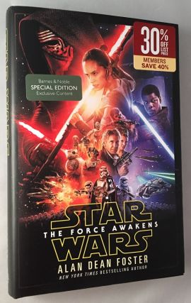 Star Wars: The Force Awakens (Signed First Printing). Alan Dean FOSTER