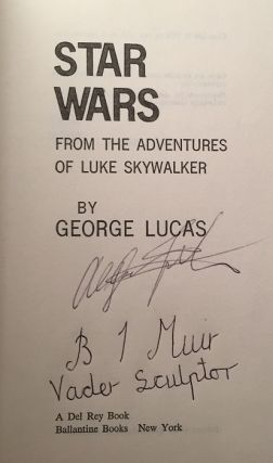"Star Wars: From the Adventures of Luke Skywalker (SIGNED TRUE 1ST EDITION); Contains the proper ""S27"" code!!"