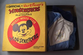 Official Walt Disney's MOUSEKETEERS Costume Playoutfit (IN ORIGINAL BOX). Walt DISNEY.