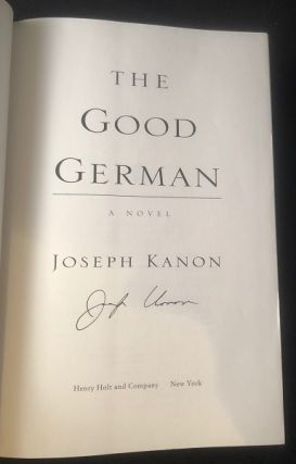 The Good German (SIGNED FIRST PRINTING)