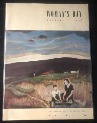 Woman's Day Magazine Issue #1 (October 7, 1937). George OWEN, Bert METZGER, Virginia DAE, et all