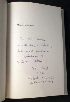 Donald Davidson: An Essay and a Bibliography (SIGNED FIRST PRINTING)