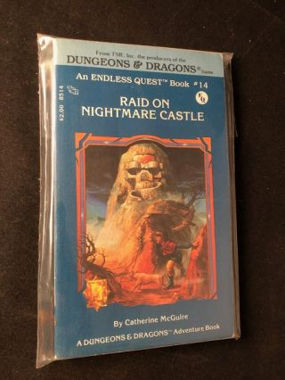 Raid on Nightmare Castle: An Endless Quest Book #14; A DUNGEONS & DRAGONS ADVENTURE BOOK....