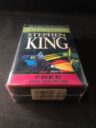 The Green Mile (FIRST PRINTING SET IN ORIGINAL SLIPCASE W/ SCREEN SAVER). Stephen KING