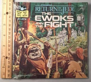 Star Wars: The Ewoks Join the Fight 24 Page Read-Along (SEALED IN ORIGINAL WRAP). Star Wars, Bonnie BOGART, Buena Vista Records.