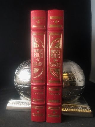 Hoyle's Rules of Games (2 VOLUME SET). Albert H. MOREHEAD, Richard FREY, Richard MOTT-SMITH, et all
