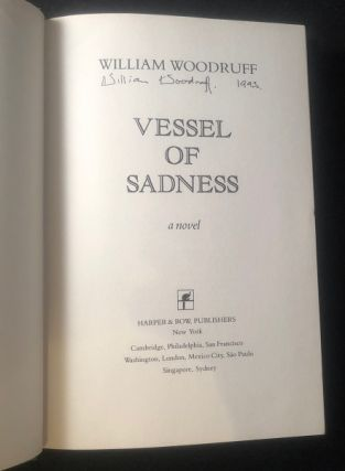 Vessel of Sadness (SIGNED FIRST THUS)