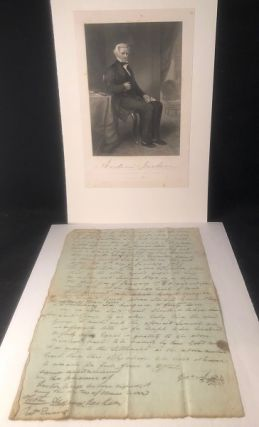 Early 1789 Andrew Jackson Signed Document (Pre-TN Statehood). Andrew JACKSON
