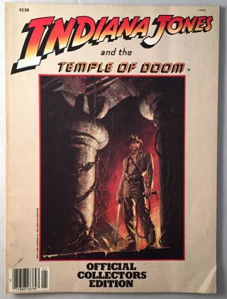 Indiana Jones and the Temple of Doom Collector's Album (Movie Special). George LUCAS, Willard...
