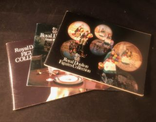 Lot X 3 Royal Doulton Guide Books. ROYAL DOULTON CO