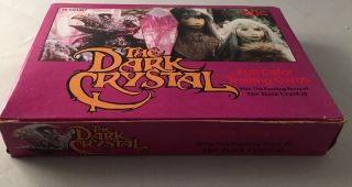 1982 The Dark Crystal UNOPENED WAX BOX; (36 Unopened wax packs). Trading Cards, Box.
