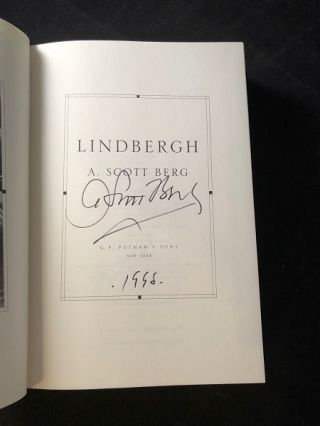 Lindbergh (SIGNED FIRST EDITION)