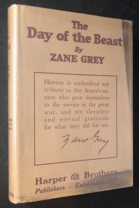 The Day of the Beast (From Zane Grey's Personal Library). Zane GREY