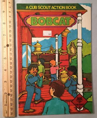 Official BOBCAT Cub Scout Action Book. Ephemera, Boy Scouts.