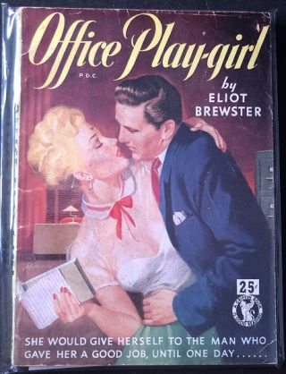 Office Play-girl. Eliot BREWSTER
