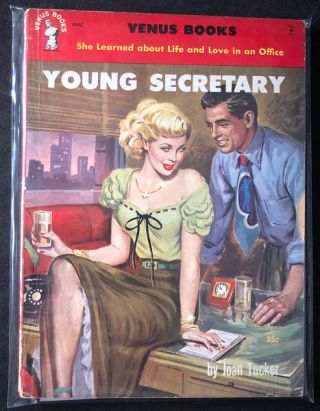 Young Secretary; She Learned about Life and Love in the Office. Joan TUCKER