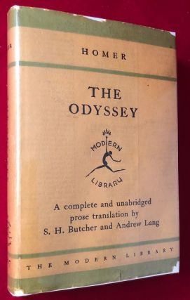 The Odyssey. HOMER, Andrew LANG, S. H. BUTCHER