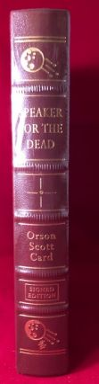 Speaker for the Dead (SIGNED EDITION). Orson Scott CARD