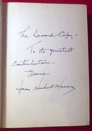 """The Challenge to Liberty (SIGNED 1ST PRINTING); """"The Second Copy"""""""