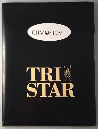 1992 City of Joy Movie Press Kit in Original Folder. Press Kits, Dominique LAPIERRE, Mark MEDOFF.