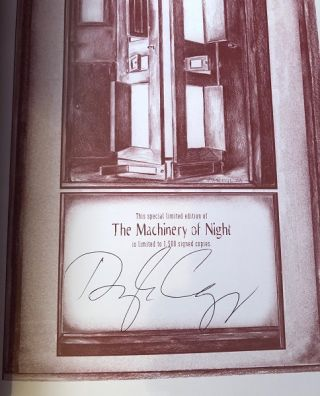 The Machinery of Night (SIGNED LTD EDITION)