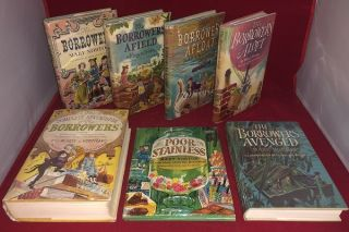 First Printing Complete Set of THE BORROWERS Books (7 First American Editions). Mary NORTON