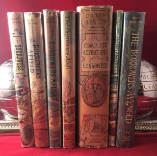 First Printing Complete Set of THE BORROWERS Books (7 First American Editions)