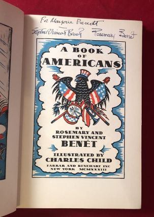 A Book of Americans (SIGNED BY BOTH AUTHORS)