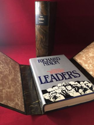 Leaders (SIGNED ASSOCIATION COPY). Richard NIXON