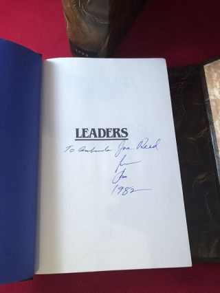 Leaders (SIGNED ASSOCIATION COPY)