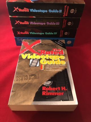 X-Rated Videotape Guide (VOLUMES I-IV)