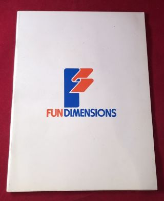 1979 Fun Dimensions Product Catalog (LIONEL TRAINS, MPC STAR WARS MODEL KITS)
