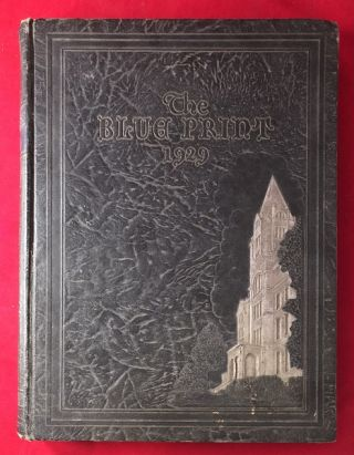 1929 Georgia Tech BLUE PRINT Yearbook. Marion Luther BRITTAIN, et all