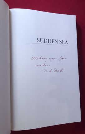 Sudden Sea: The Great Hurricane of 1938 (SIGNED FIRST PRINTING)