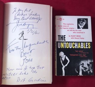 "Dempsey (SIGNED & INSCRIBED BY ALL 3 AUTHORS TO OSCAR FRALEY, CO-AUTHOR OF ""THE UNTOUCHABLES"")"