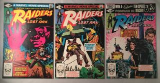 Raiders of the Lost Ark (Original 1981 3-Volume Comic Adaptation). Indiana Jones, Walt SIMONSON, John BUSCEMA, Klaus JANSON, Stan LEE, et all.
