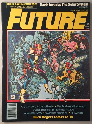 FUTURE Magazine (January, 1979); Featuring Art by John Berkey and an Interview with Greg and Tim...