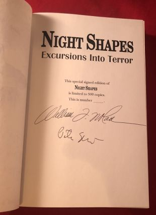 Night Shapes (SIGNED/LTD X 2 / From Collection of Author Gary Brandner)