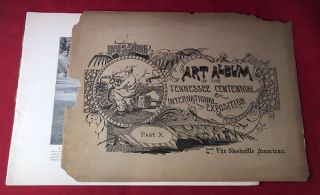 Complete 12 VOLUME Art Album of the Tennessee Centennial & International Expostion Held at Nashville, May 1 to October 31, 1897