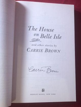The House on Belle Isle and Other Stories (SIGNED 1ST PB)