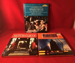 "Star Wars Original Trilogy ""Step-Up Movie Adventures"" Complete First Printing Run. Larry..."