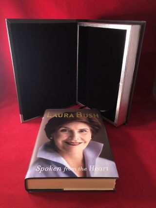 Spoken from the Heart (SIGNED #'ED EDITION). Laura BUSH