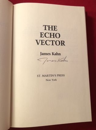 The Echo Vector (SIGNED 1ST PRINTING)