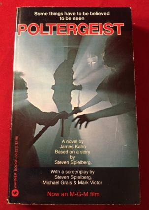 Poltergeist (SIGNED 1ST). James KAHN