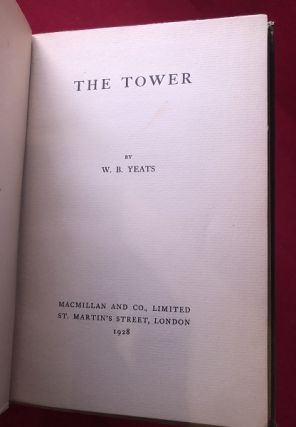 The Tower (TRUE 1ST UK EDITION)