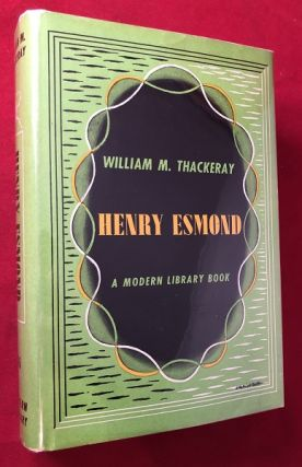 Henry Esmond. William M. THACKERAY