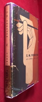 E.M. Forster (SIGNED 1ST PRINTING). Lionel TRILLING