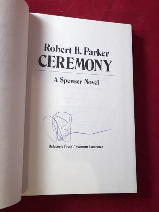 Ceremony (SIGNED FIRST EDITION)