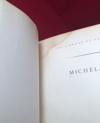 The Paintings of Michelangelo